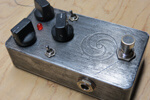 Custom overdrive pedal for Mike Weiss of mewithoutYou