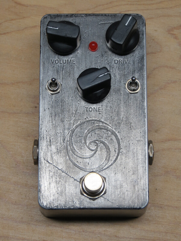 mewithoutYou custom overdrive pedal