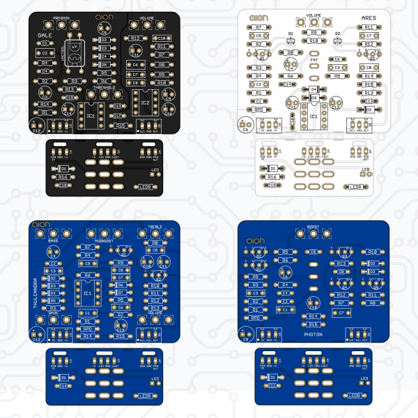 Aion FX - New PCBs 10/18/2019