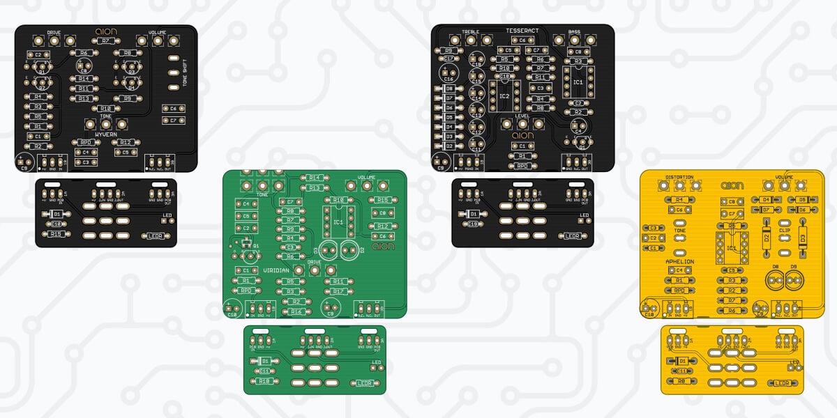 New PCBs 8/29/2020