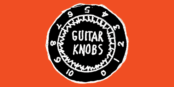 The Guitar Knobs podcast logo