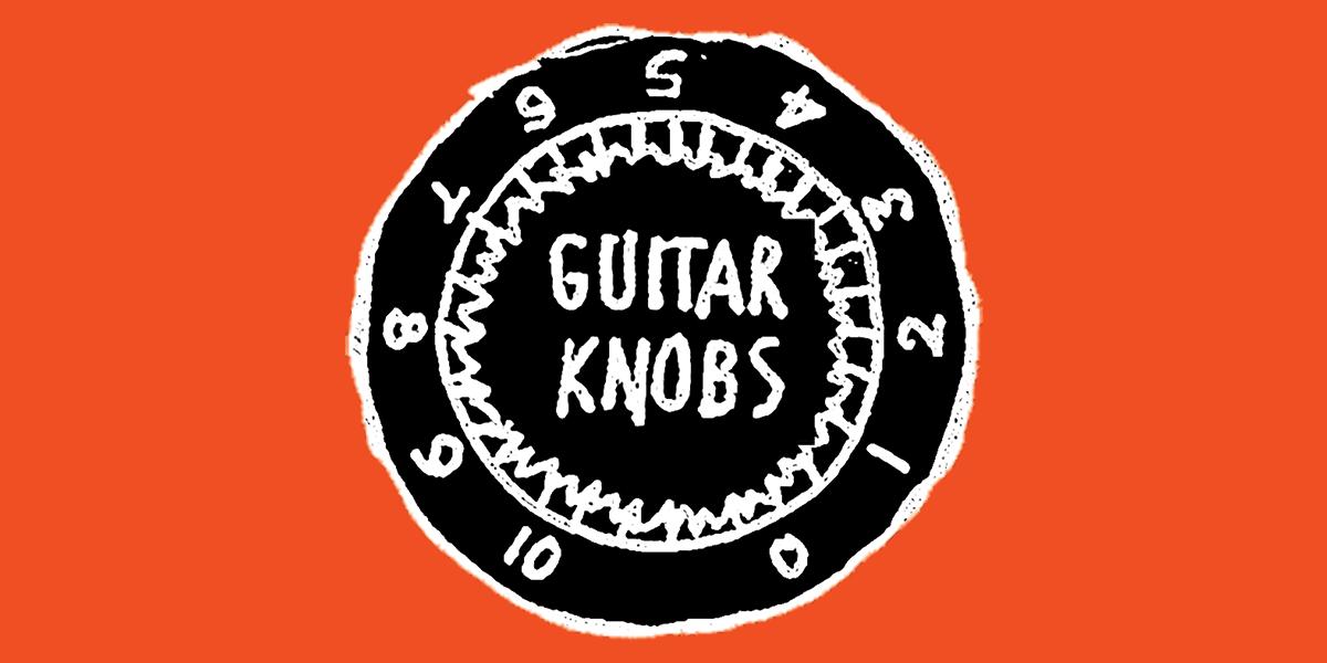 The Guitar Knobs podcast logo