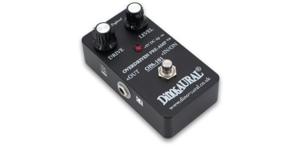 Dinosaural OPA-101 Overdriven Preamp trace