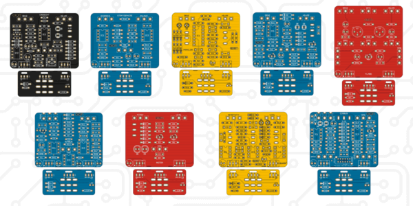New PCBs + 20% off through Monday, March 22