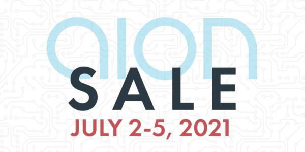 Aion FX Sale July 2-5, 2021