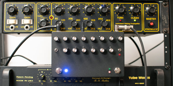 Aion FX Intersound IVP Preamp Pedal