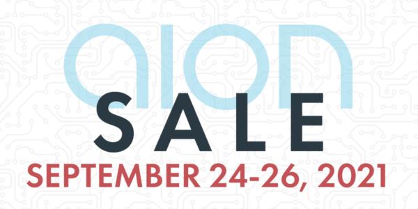 Aion FX Sale, September 24-26, 2021
