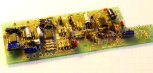 The S698 PCB degooped by Martin Chittum (soulsonic).