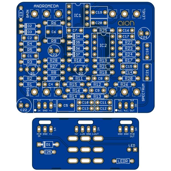 Andromeda Natural Overdrive printed circuit board
