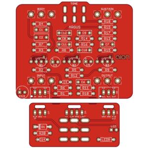 Argus Silicon Fuzz - based on the Roland AD-50 Double Beat
