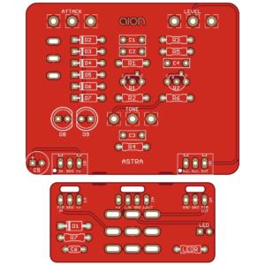 Astra Silicon Fuzz - Astrotone Fuzz PCB