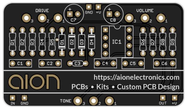 Aion FX Business Card Drive PCB