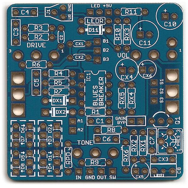 Cerulean (Marshall Bluesbreaker) PCB