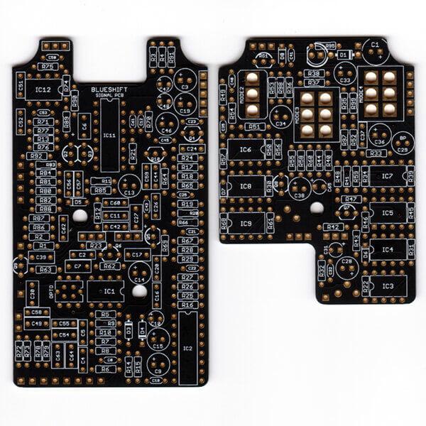 Blueshift Spatial Chorus printed circuit board