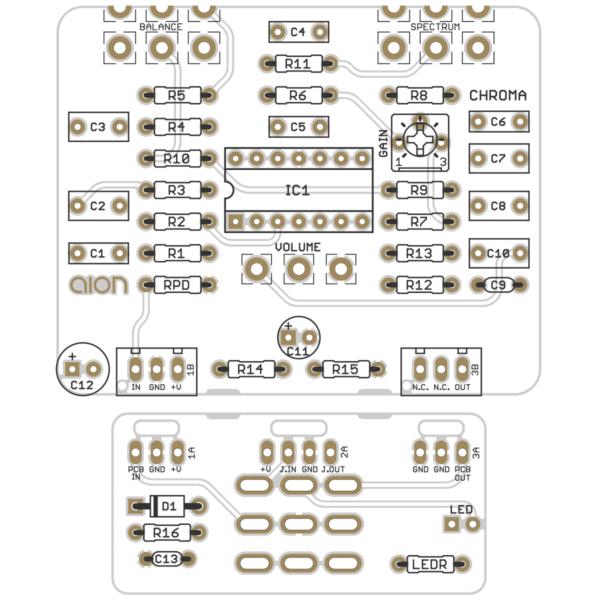 Chroma Parametric Boost PCB