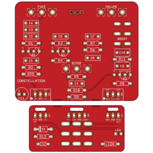 Constellation - Shin-Ei Companion FY-2 PCB