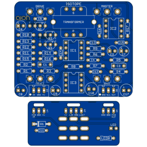Isotope Amp Overdrive PCB