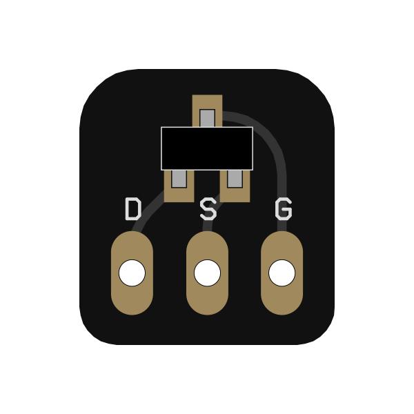 JFET adapter (J201, 2N5457)