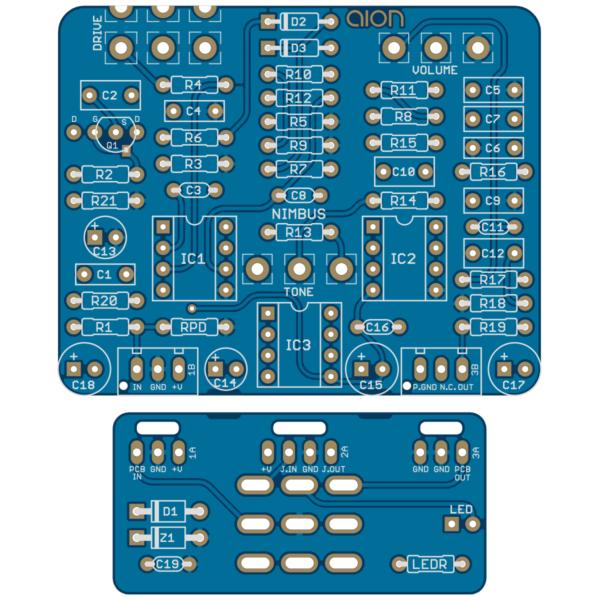 Nimbus Dynamic Overdrive PCB