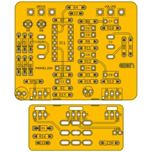 Parhelion Vintage Overdrive - Boss OD-1 OverDrive PCB