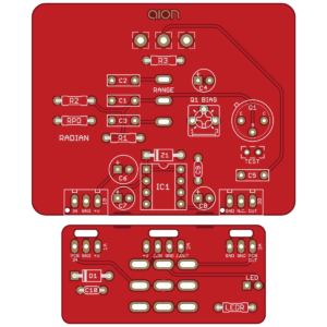 Radian Treble Booster - Dallas Rangemaster