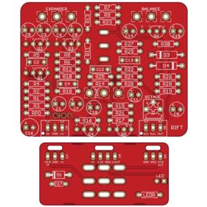 Rift - Univox Superfuzz PCB