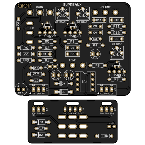 Runoffgroove Supreaux PCB