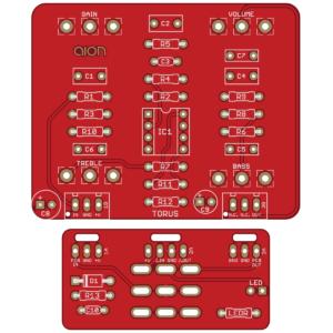 Torus - Demo Tape Fuzz PCB