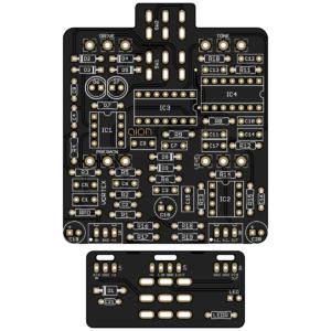 Vortex - Bouteek Distorter Preamp DIY PCB