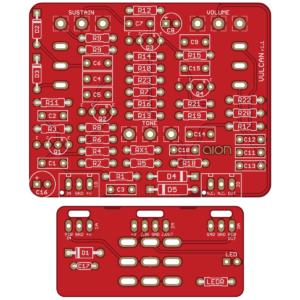 Vulcan - fOXX Tone Machine DIY PCB