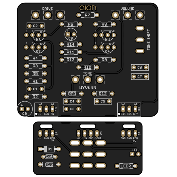Wyvern Silicon Drive PCB