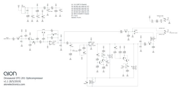 Dinosaural OTC-201 Schematic